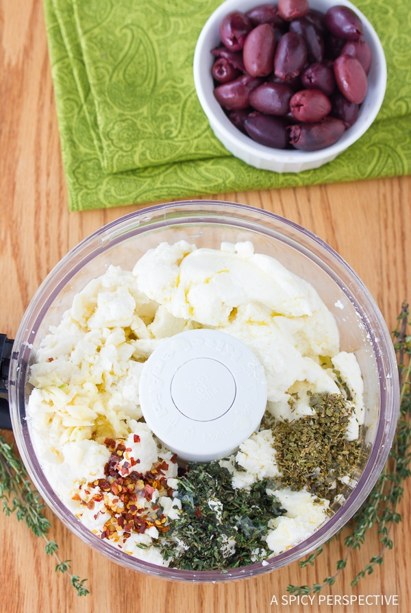 How To: Spicy Feta Dip with Roasted Red Peppers Recipe