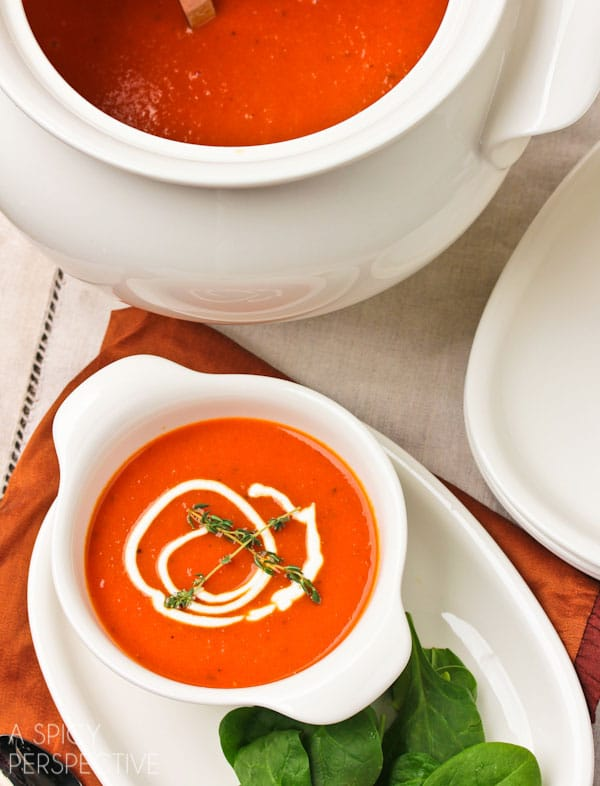 Roasted Red Pepper Soup #healthy