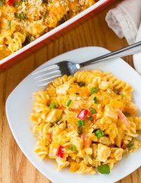 The Best Buffalo Chicken Mac and Cheese Recipe #winner