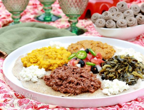 Ethiopian Recipes: Doro Wat and Injera Recipe