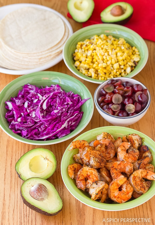 How to Make Shrimp Tacos Recipe with Ranchero Sauce