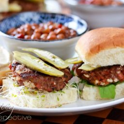 Andouille Blue Cheese Sliders Recipe