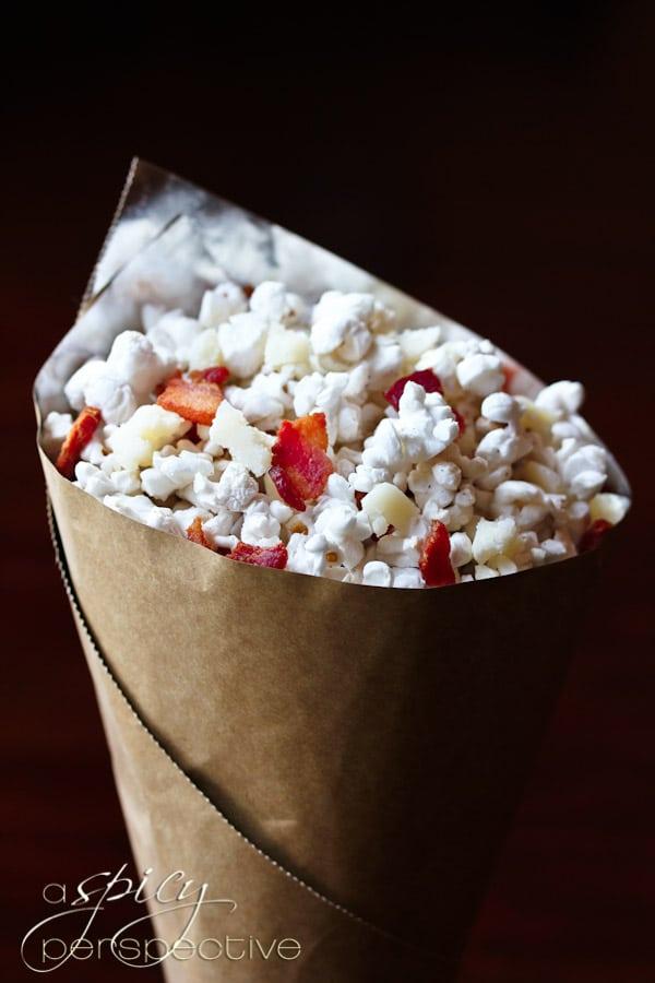 Bacon and Pecorino Popcorn