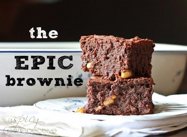 Homemade Brownies - The Epic Brownie Recipe