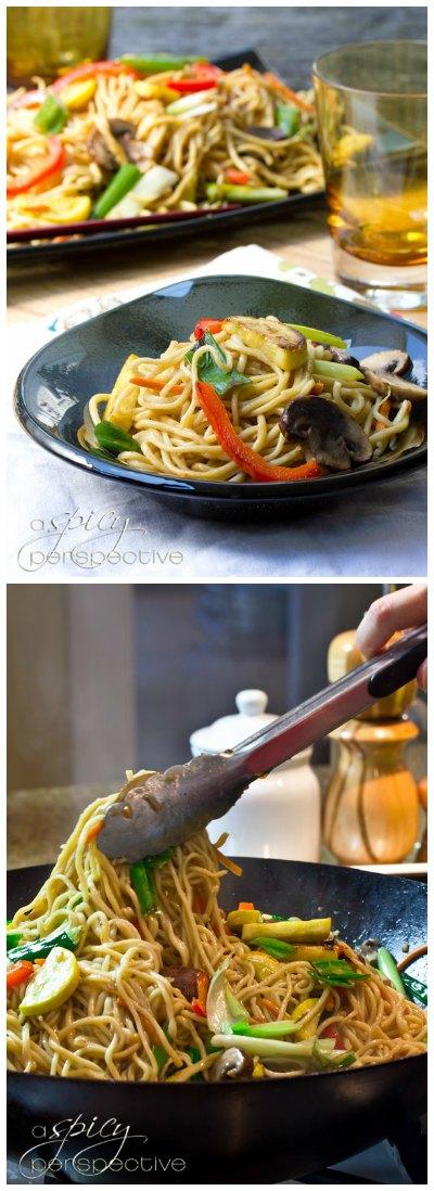 Amazing Lo Mein Recipe with Homemade Pasta