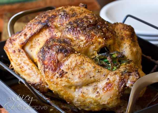 A Spicy Perspective Asian Rubbed Thanksgiving Turkey