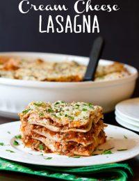 Homemade Lasagna with Sausage