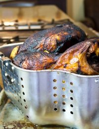Learn How to Safely Fry a Turkey | ASpicyPerspective.com #thanksgiving #turkey