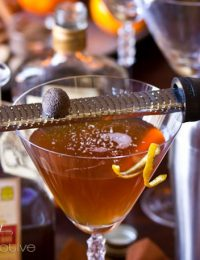 Manhattan Cocktail Recipe | ASpicyPerspective.com #holiday #cocktails