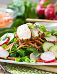 Vietnamese Salad ~ Banh Mi Style | A Spicy Perspective #healthy #salad #vietnamese