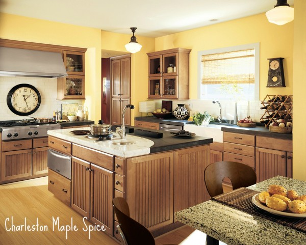 Shenandoah Cabinetry - Charleston Maple Spice K_LW_Z5S_H_12R