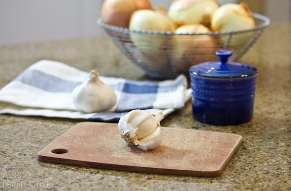 How to Mince Garlic #DIY #howto #garlic
