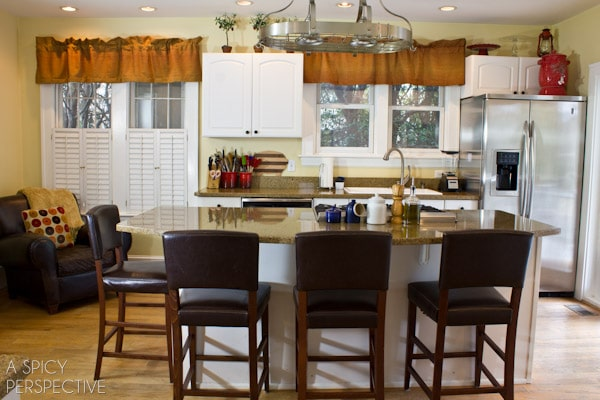 A Spicy Perspective Kitchen Makeover- Help Me Pick My Shenandoah Cabinetry #kitchen