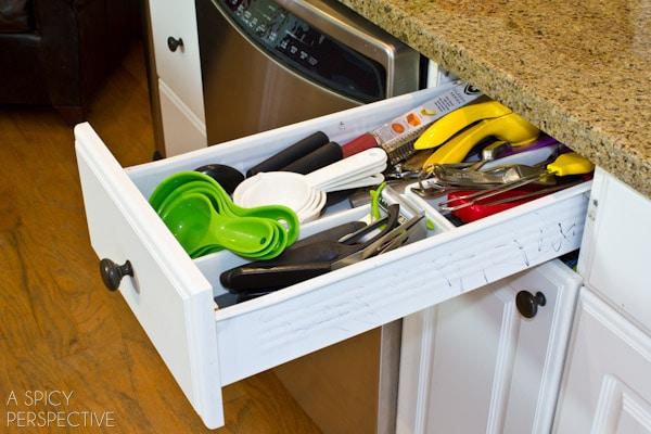 messy drawers