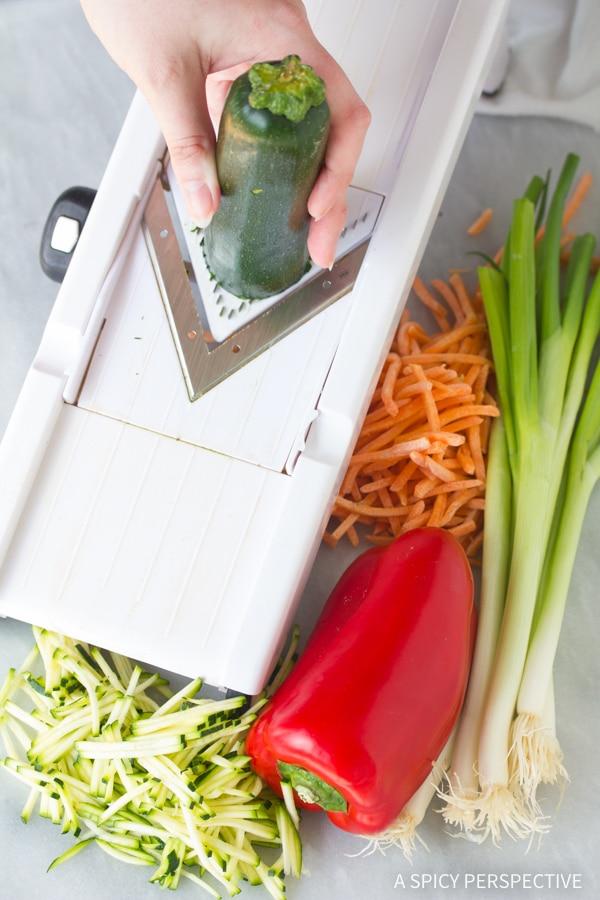 Vegetables #ASpicyPerspective #KoreanPancakes #KoreanPancakeRecipe #Pajun #Pajeon #Korean #Vegetarian