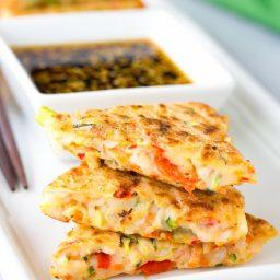 Korean Pancakes - Pajun (Pajeon) Recipe #vegetarian