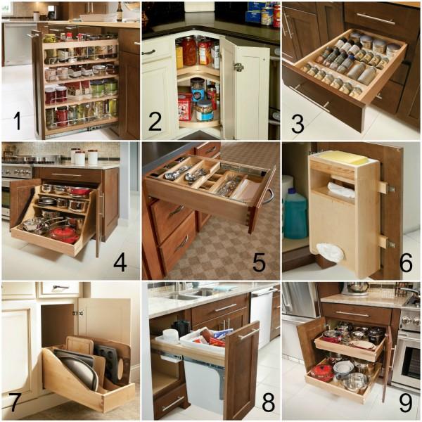 Shenandoah Cabinetry - Storage Collage