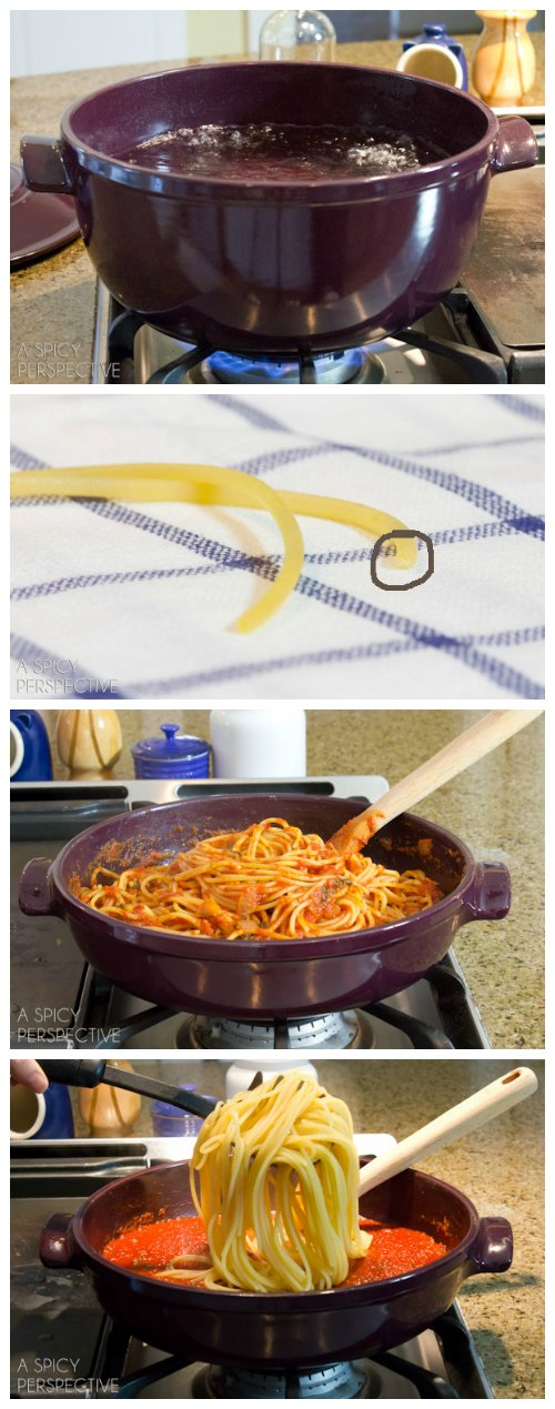 How to Cook Pasta (Perfectly!)
