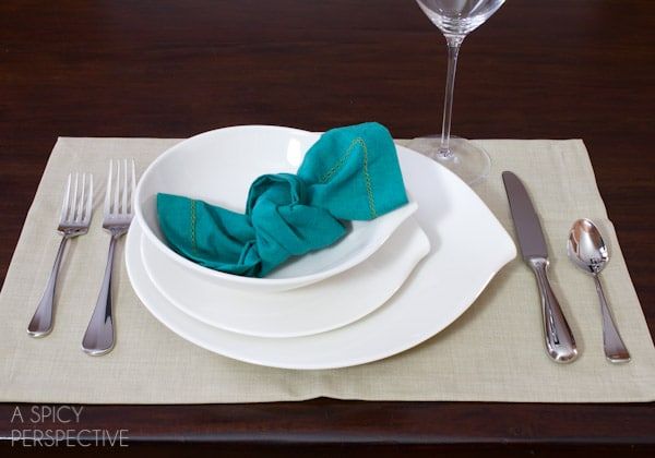 Knotted Napkin