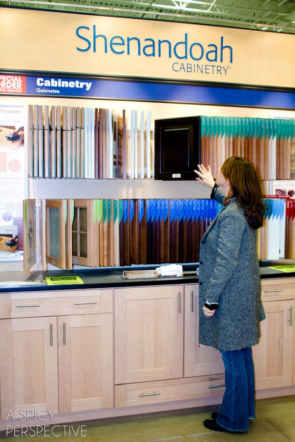 Picking out Shenandoah Cabinetry