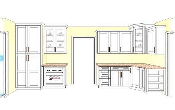 Shenandoah Cabinetry Kitchen Design 2