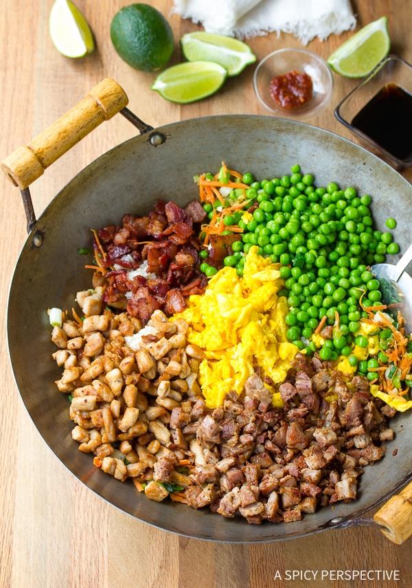 How to Make: Hawaiian Triple Pork Fried Rice Recipe