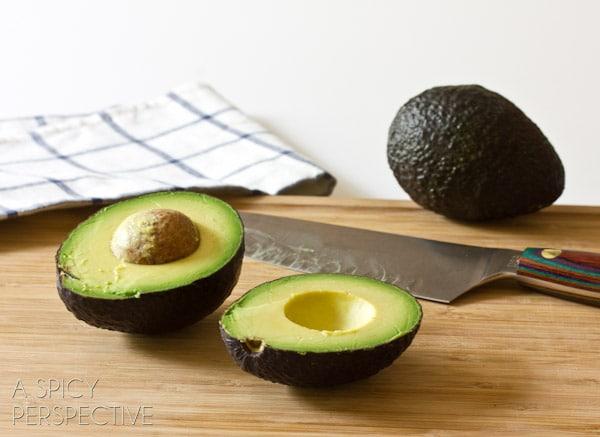 How to Cut Avocados #avocado #howto #cookingtips
