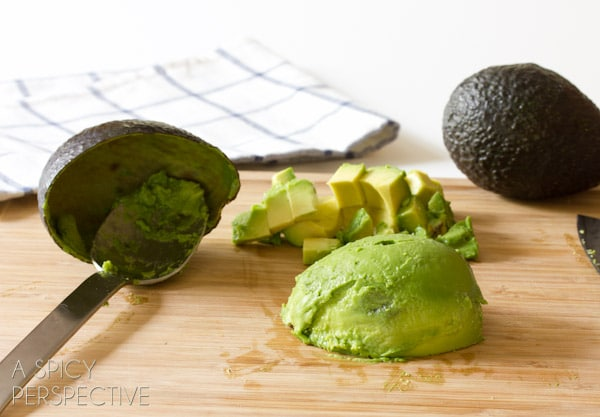 Peeling Avocados