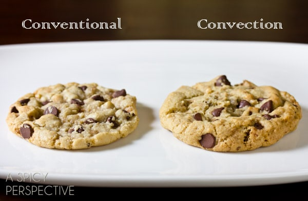 Convection Baked Cookies