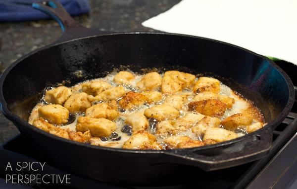 Chicken Picatta   ASpicyPerspective.com #pasta #chickenrecipe #chicken