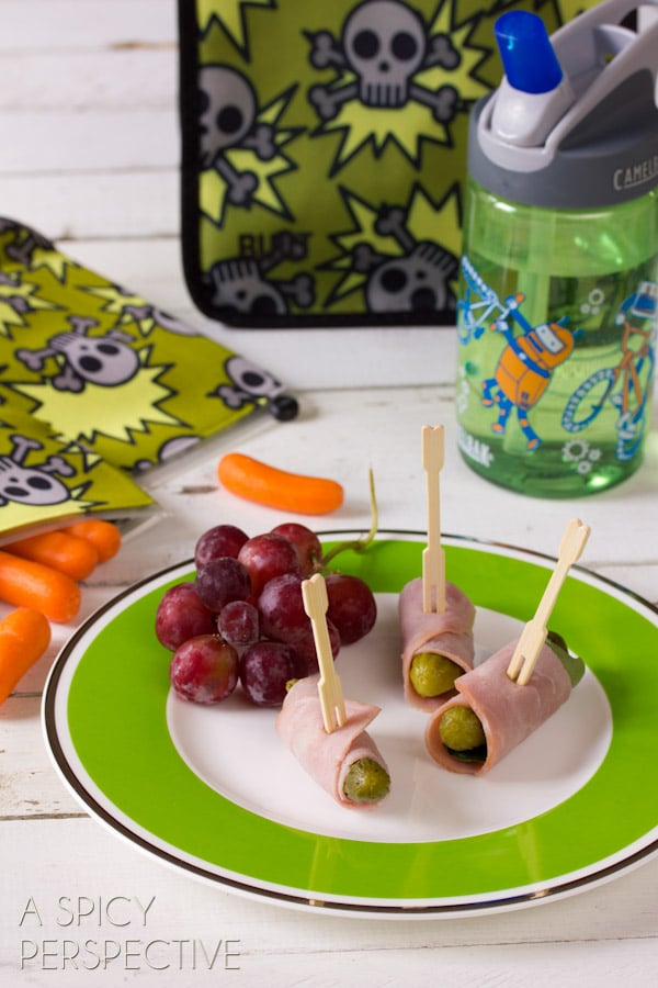 Simple Healthy Lunch Ideas   ASpicyPerspective.com #backtoschool #lunch #schoollunch #lunchbox