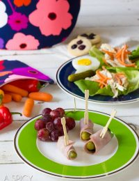 Healthy Lunch Ideas | ASpicyPerspective.com #backtoschool #lunch #schoollunch #lunchbox