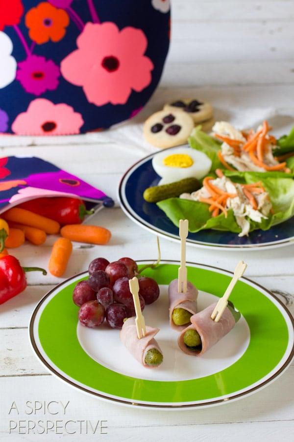 Healthy Lunch Ideas   ASpicyPerspective.com #backtoschool #lunch #schoollunch #lunchbox