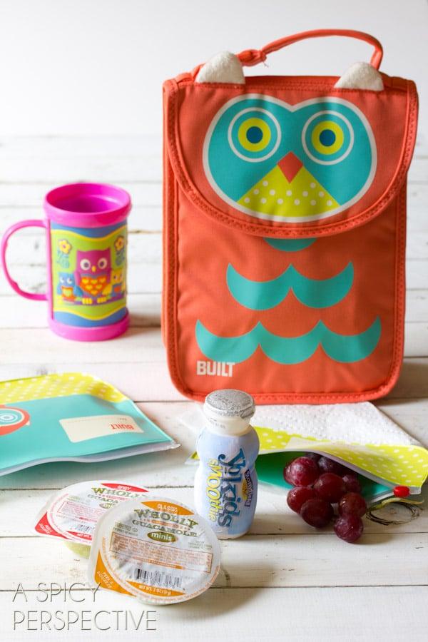 Freezer Favorites - Healthy Lunch Ideas   ASpicyPerspective.com #backtoschool #lunch #schoollunch #lunchbox