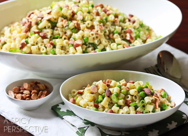 Pasta - Healthy Lunch Ideas   ASpicyPerspective.com #backtoschool #lunch #schoollunch #lunchbox