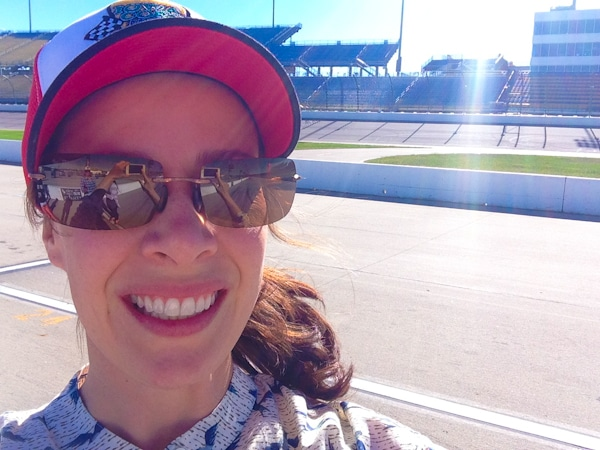 Sommer Collier at the Iowa Speedway