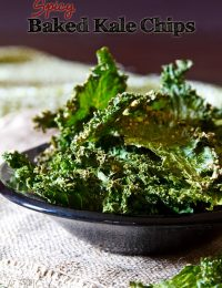 Baked Kale Chips Recipe #kale #healthy #fall #vegan #paleo