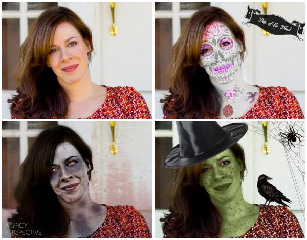 Spooky Sommer Collier | ASpicyPerspective.com #halloween