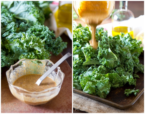 How to Make Baked Kale Chips Recipe #kale #healthy #fall #vegan #paleo
