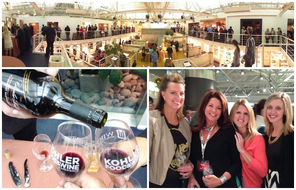 Taste of the Vine -Kohler Food & Wine Experience 2013 in Kohler, Wisconsin #travel #food #wine