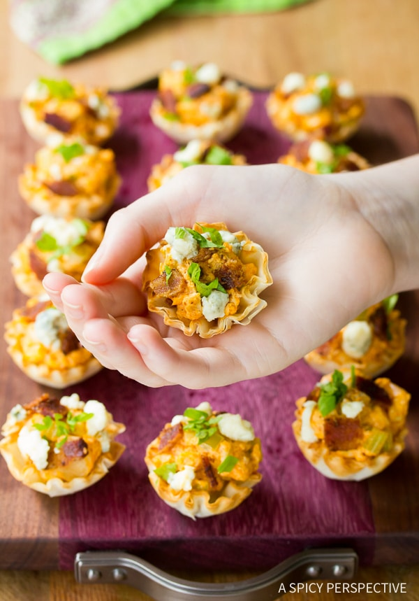 Perfect Easy Buffalo Chicken Bites Recipe for Game Day!