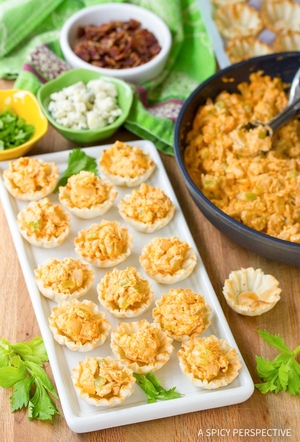 Simple Buffalo Chicken Bites Recipe for Game Day!