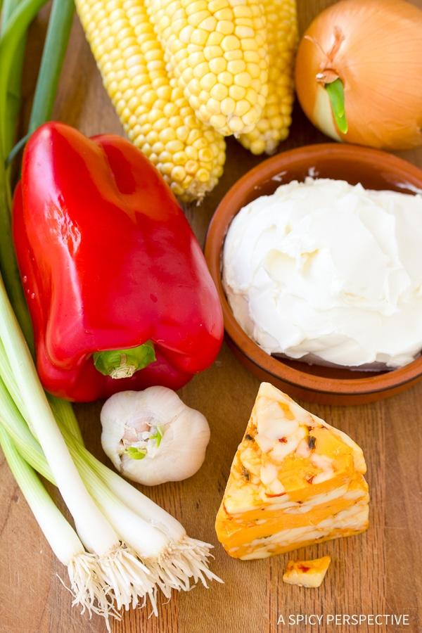 Making: Fire Roasted Corn Dip Recipe