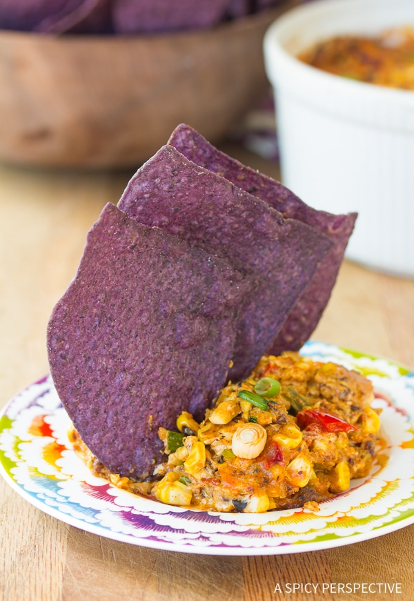 Zesty Fire Roasted Corn Dip Recipe