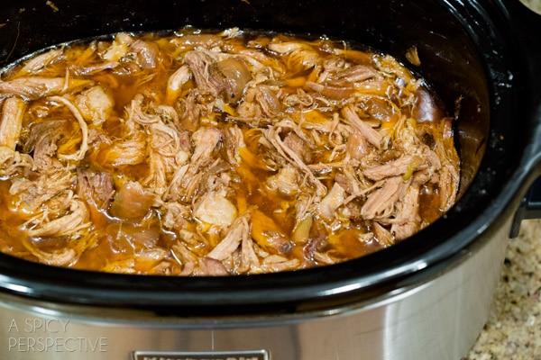 Best Crockpot Carnitas Recipe #carnitas #tacos #mexican #slowcooker #crockpot
