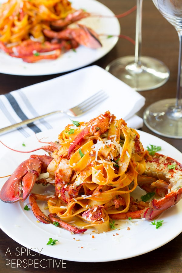 Lobster Fra Diavolo | Back Road Journal