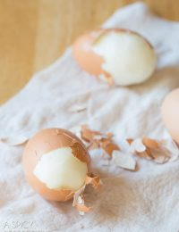 How to Peel Hard Boiled Eggs