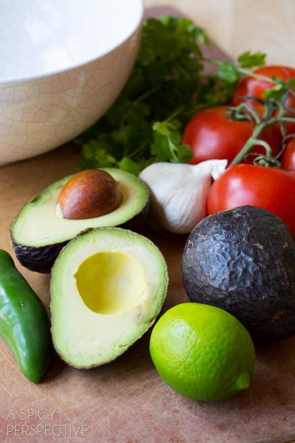 Ingredients #ASpicyPerspective #Guacamole #GuacamoleRecipe #GuacamoleRecipeEasy #HowtoMakeGuacamole #BestGuacamoleRecipe #GuacamoleRecipeSimple #Simple #Easy #Best #Dip #Mexican #Vegan #Vegetarian
