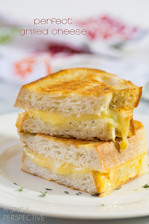 Perfect Grilled Cheese - 8 Steps to the perfect sandwich! #grilledcheese #cheese #sandwich