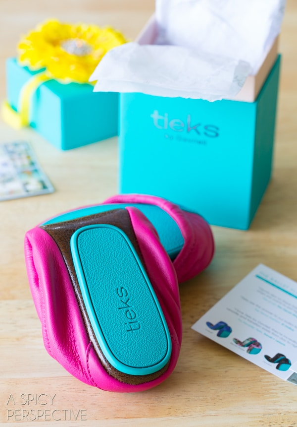 Win This Tieks Ballet Flats #Giveaway on ASpicyPerspective.com #shoes #fashion #spring